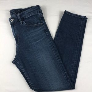 Adriano Goldschmied High-rise Stevie Ankle Jeans